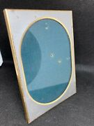 Antique Edwardian Art Deco Cabinet Photo Picture Photograph Frame Glass And Silver
