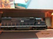 Ho Scale Athearn Gp38-2 Missouri Pacific Powered Blue Box Kit New Complete