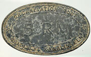 1940and039s Jersey Under Germany World War Ii Vintage Old 5 Reichsmark Coin I92559
