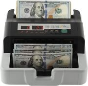 Royal Sovereign Rbc-100 Back-load High Speed Bill Counter W/counterfeit Detectio