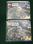 Lego 7965 Star Wars Millennium Falcon Instruction Manuals Only 1 And 2 Booklets