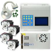 Cnc Standard 4axis Tb6560 Driver And Box And 1.86nm Nema 23 Motor And Psu, More Smooth