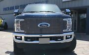 Gtg 2017 - 2019 Ford F250 F350 Super Duty 1pc Polished Replacement Billet Grille
