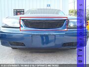 Gtg 2000 - 2005 Chevy Impala 1pc Gloss Black Upper Replacement Billet Grille