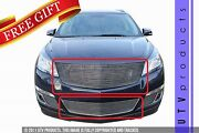 Gtg 2013 - 2017 Chevy Traverse 2pc Polished Custom Replacement Billet Grille Kit