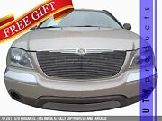 Gtg 2004 - 2006 Chrysler Pacifica 2pc Polished Replacement Billet Grille Grill