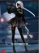 1/6 Cool Girl Self-control Game Character Cos Nia Automata Fluset Black