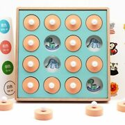Memory Match Chess Game 3d Puzzles Wooden Early Educational Family Party Toy Kid