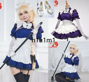 Fate/grand Order Jeanne Dark Maid's Clothes Cosplay Costumes Hair Ornament Sock