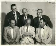 1956 Press Photo Officers Of Purchasing Agents Association Of New Orleans