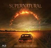 First-time Limited Production Supernatural Blu-ray Complete Series 57-disc Set