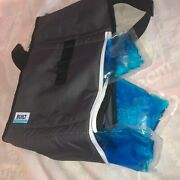 Nwt Built Ny Icehouse Everest Lunch Bag Tote Insulated Thermal Cooler Box Black