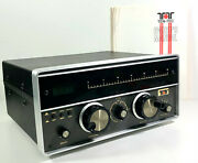 Ten Tec Model 229 Hf Antenna Tuner W/ Manual New Dial Cord And Lights As-is Condtn