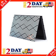 Allwon Magnetic Palette Black Empty Makeup Palette With Mirror And 20pcs Adhesiv