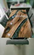 Custom Epoxy Table Furniture Resortdining Room Decorative Wooden Made To Order