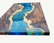 Custom Epoxy Table Furniture Wooden Resortdining Room Decorative Made To Order