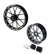 21 Front 18and039and039 Rear Wheel Rim Hub Fit For Harley Touring Street Glide 08-21 09