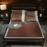 High Quality Summer Cool Mat Fitted Sheet Set Indonesian Bed Cover Sleeping Mats