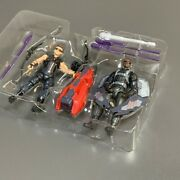3.75 Marvel Avengers Age Of Ultron Hawkeye And Falcon Figures Tru Exclusive Toys