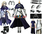 Fgo Fate/grand Order Ruler Jeanne Dark With Boots Cosplay Costumes