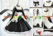 High Quality Real Photography Azur Lane/as-az-relenluster Maid's Clothes Cosplay