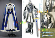 High Quality Real Photography Cosplay Costumes Fate/stay Night Saber War Clothes