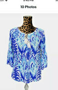 Lily Pulitzer Del Lago To Sz Small..... With Ties And Tassel Removed