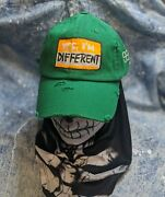 Eleveno2 Artwear One Of A Kind Hand-painted Dad Hat Yes Iand039m Different
