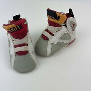Nike Air Jordan 7 Vii Retro Hare Bugs Bunny Baby Infant Shoes 305076-125 Size 1c
