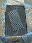 X125 New Lego Gray Baseplates Base Plates Brick Building 5x10 Inches Each Plate