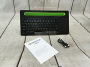 Multi-device Bluetooth Keyboard With Touchpad - Wireless Ios/windows/android