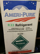 R22 Refrigerant 30lb New Boxed And Sealed
