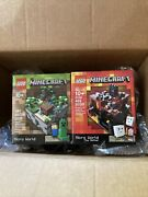 Lego Minecraft Micro World The Forest 21102 And The Nether 21106 New