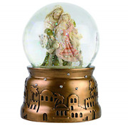 Enesco Heart Of Christmas Holiday Holy Family Musical Waterball, 5.91 Inch,