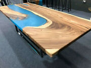 Wooden Acacia Furniture Epoxy Dining/coffee Table Top Furniture Made To Order
