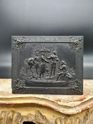 Antique Gutta Percha Union Case Engraved By Frederick P. Goll -1850s