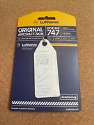 Aviationtag Lufthansa B747 D-abvc White Sold Out Rare