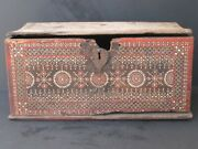 Antique Box Wooden Inlay Mother-of-pearl, Lombok Indonesia