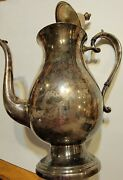 Vintage Rogers Bros Silver Silverplate Pot