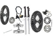 12andldquo And 14andrdquo Front Rear Wheel Tires Front Forks Shock Pit Bike Coolster Taotao 110c