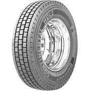 4 New Continental Hdl2 295/75r22.5 Load G 14 Ply Drive Commercial Tires