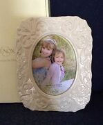 Lenox Georgian Ivory China Photo Picture Frame 5×7 New In Box Perfect Free Sandh