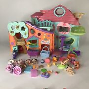 Biggest Littlest Pet Shop And Club House, Pets, Accessories Hasbro 20o5 Lot 30