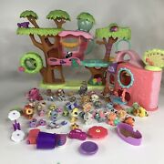 Lps Littlest Pet Shop Magic Motion Tree Houst 43 Pets Playsets And Accessories