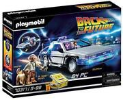 Back To The Future - Delorean Building Set By Playmobil