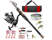 Bluefire Fishing Rod Kit High-quality For Beginner Adults Saltwater Freshwater