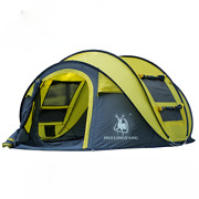 Automatic Tents Throwing Pop Up Waterproof Camping Hiking Tent Large Family Tent
