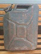 Old Vintage German Military Wehrmacht Jerry Can Gas Fuel Container Wwii 1941