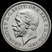 1927 George V Silver Proof Threepence Scarce