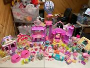 My Little Pony Celebration Castle Music And Lights Dream Lot Loaded W Pcs And Sets